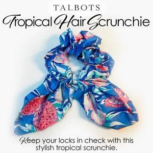Talbots Tropical Hair Scrunchie